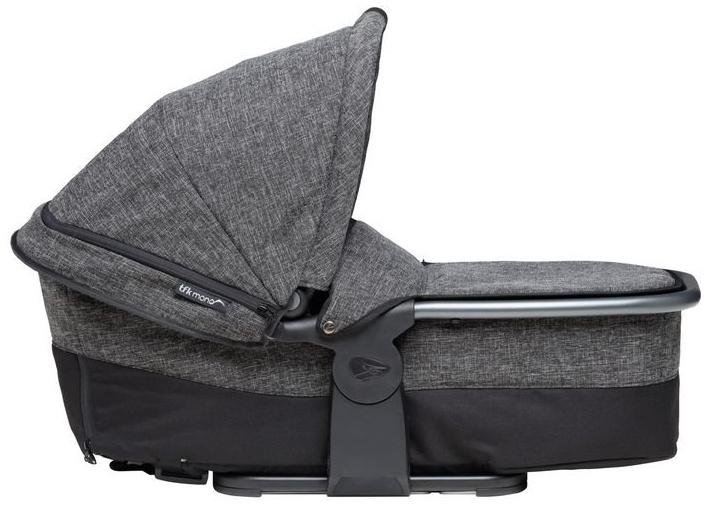 TFK Mono Kombieinheit - Liege / Sitzeinheit - Premium Line - für TFK Mono Kinderwagen Premium Anthrazit Bild 1