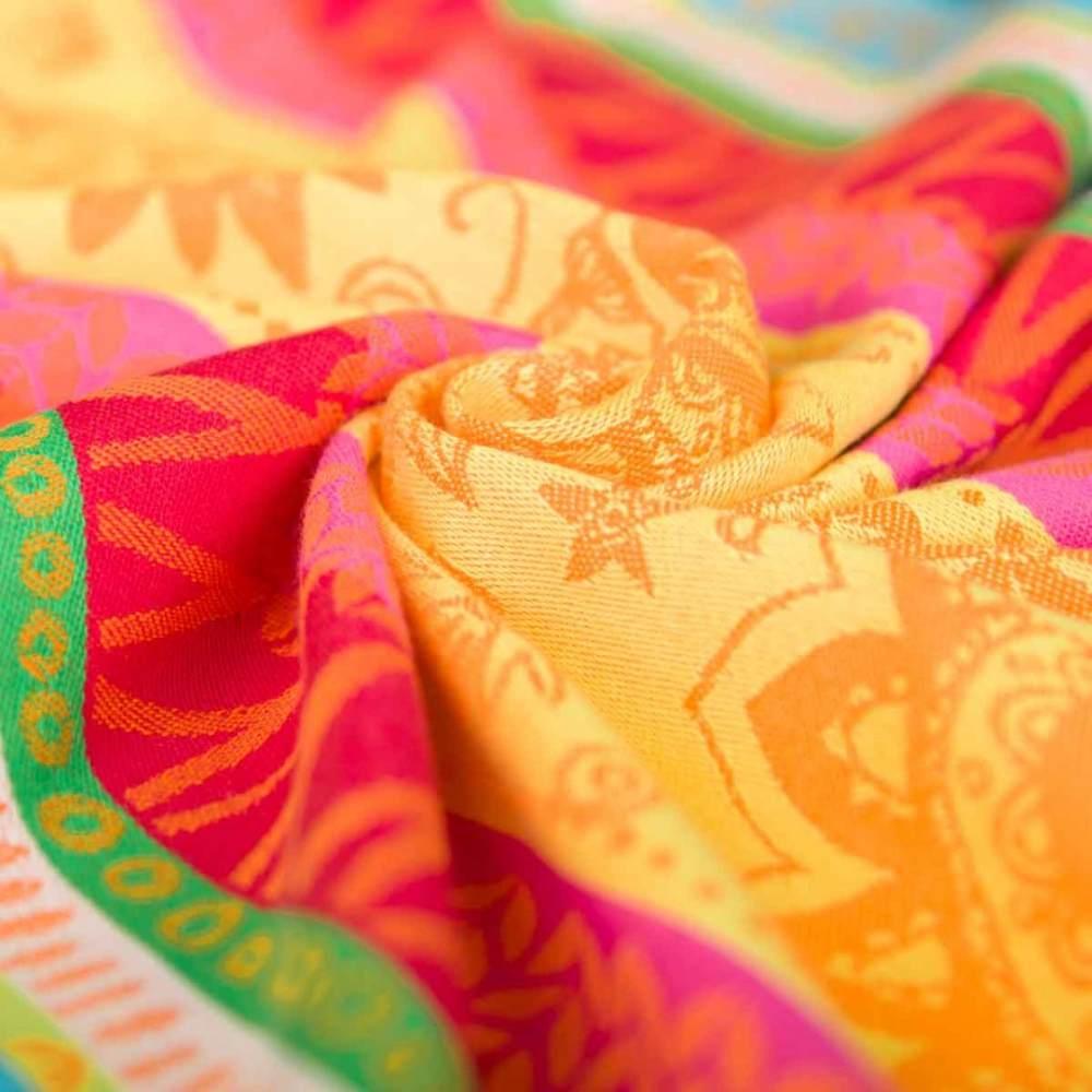 Hoppediz 'Nabaca Panel Sunny Mind' Babytrage Orange Gr. S Bild 1