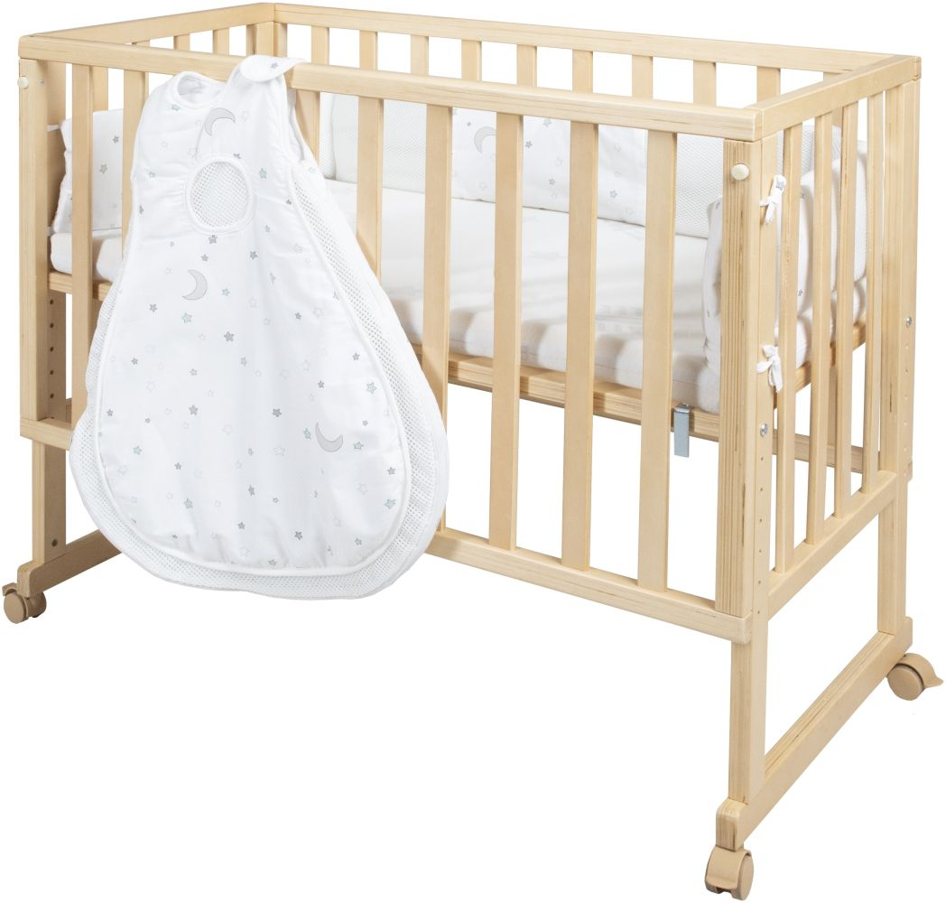 Roba 'safe asleep' Stubenbett 3 in1 inkl. Ausstattung 'Sternenzauber' Bild 1