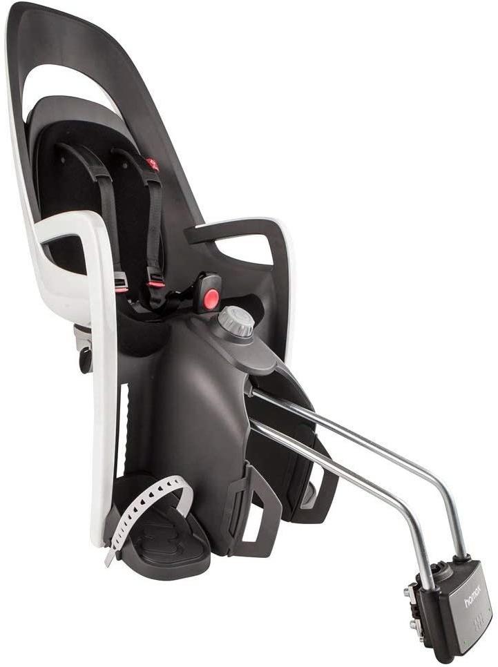 Hamax 'Caress' Kindersitz schwarz, bis 22 kg inkl. Rahmenhalterung Bild 1