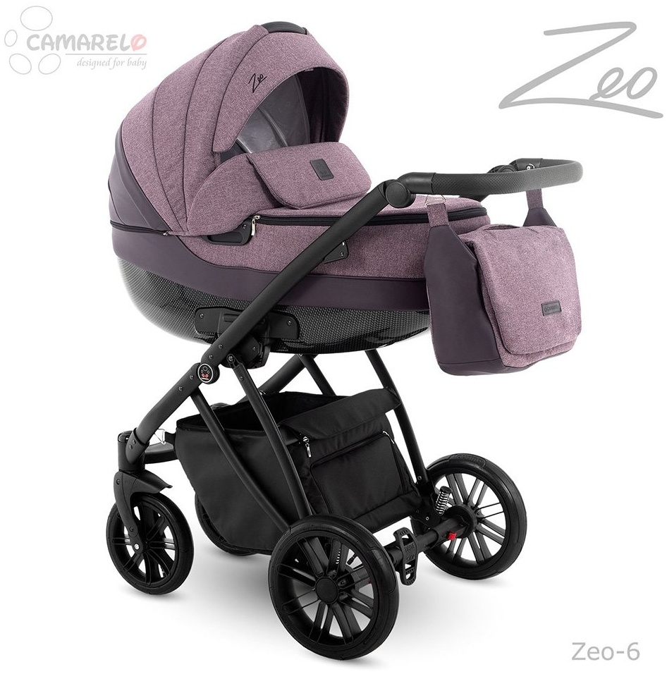 Camarelo Zeo - 3in1 Kombikinderwagen - Zeo-6 lila Bild 1