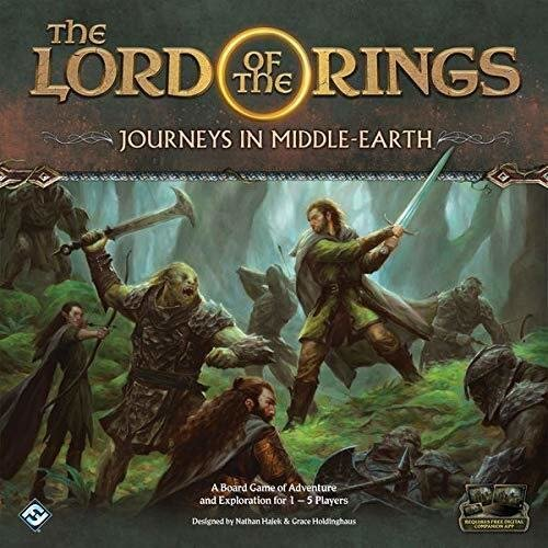 Flight Games FFGJME01 The Lord of the Rings: Journeys in Middle-Earth, Brettspiel - Englische Edition Bild 1