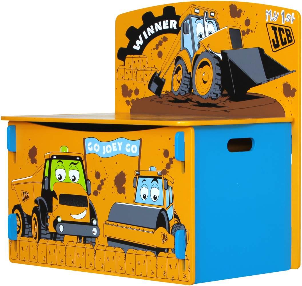 JCB Spieltisch, Spielregal, Spielbox, Spielzeugkiste Bild 1