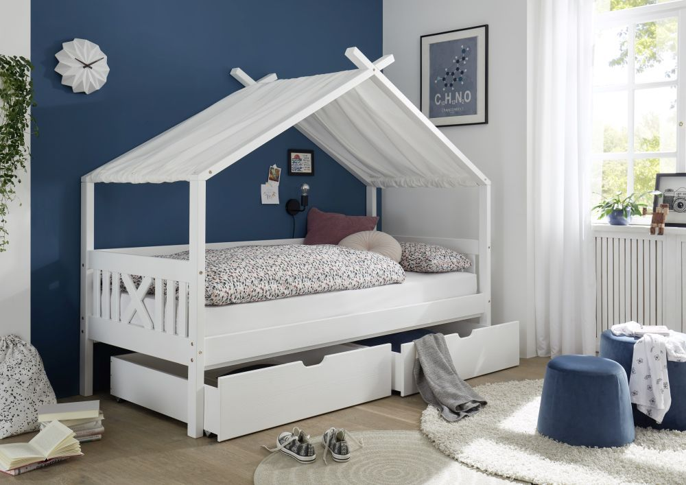 Bega 'Leonie' Hausbett, 90x200 cm, mit 2 Bettkästen Bild 1