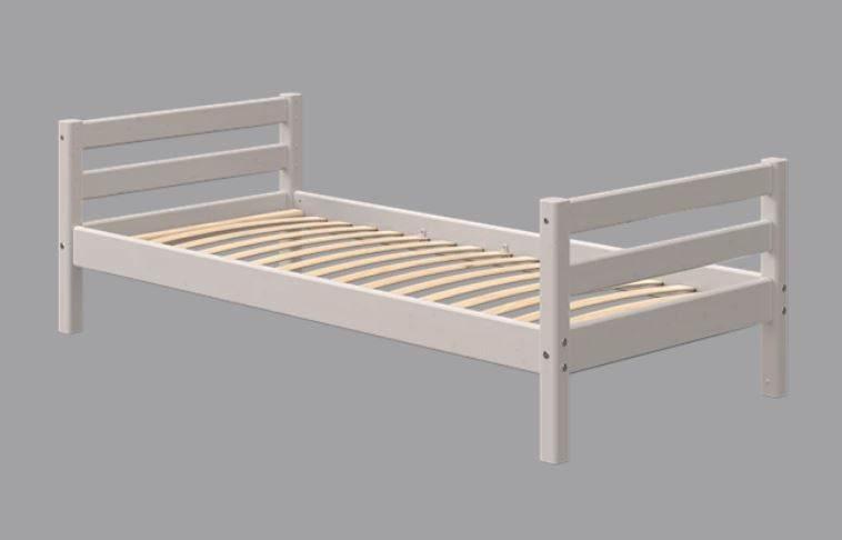 Flexa Classic Einzelbett, 90 x 190 cm | Grau lasiert Bild 1