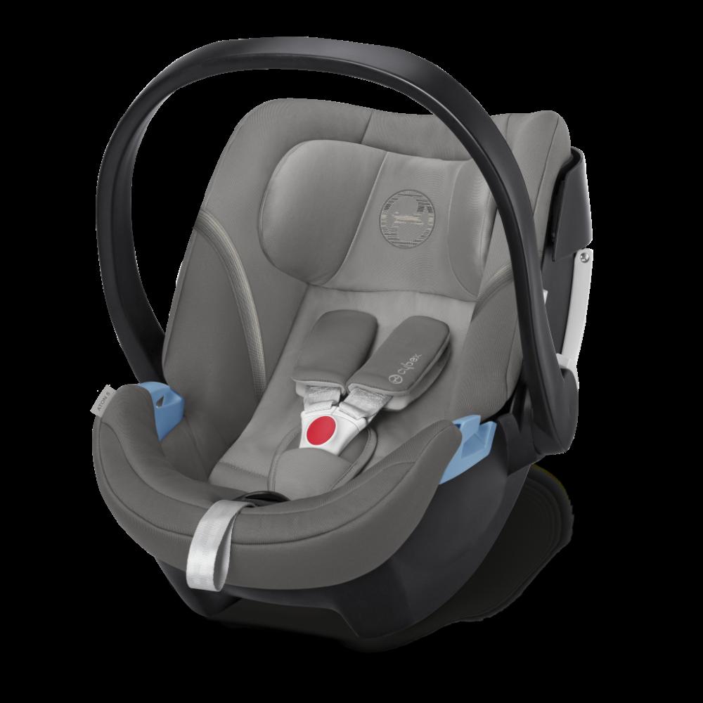 CYBEX 'Aton 5' Babyschale 2020 Soho Grey von 0 bis 13 kg (Gruppe 0+) Isofix Bild 1