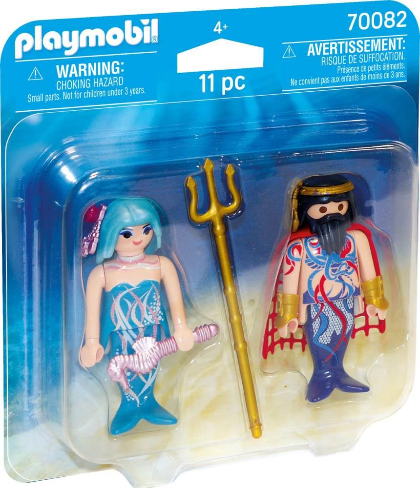 Playmobil Magic 70082 'DuoPack Meereskönig und Nixe', 11 Teile, ab 4 Jahren Bild 1