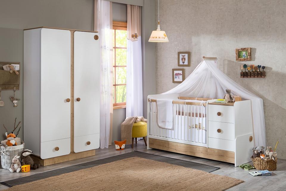 Cilek 'NATURA BABY' 2-tlg. Babyzimmer-Set Bild 1
