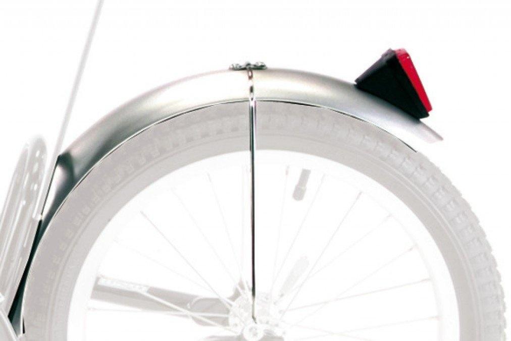Croozer Unisex– Erwachsene Schutzblech-3092049060 Schutzblech, Silber, One Size Bild 1