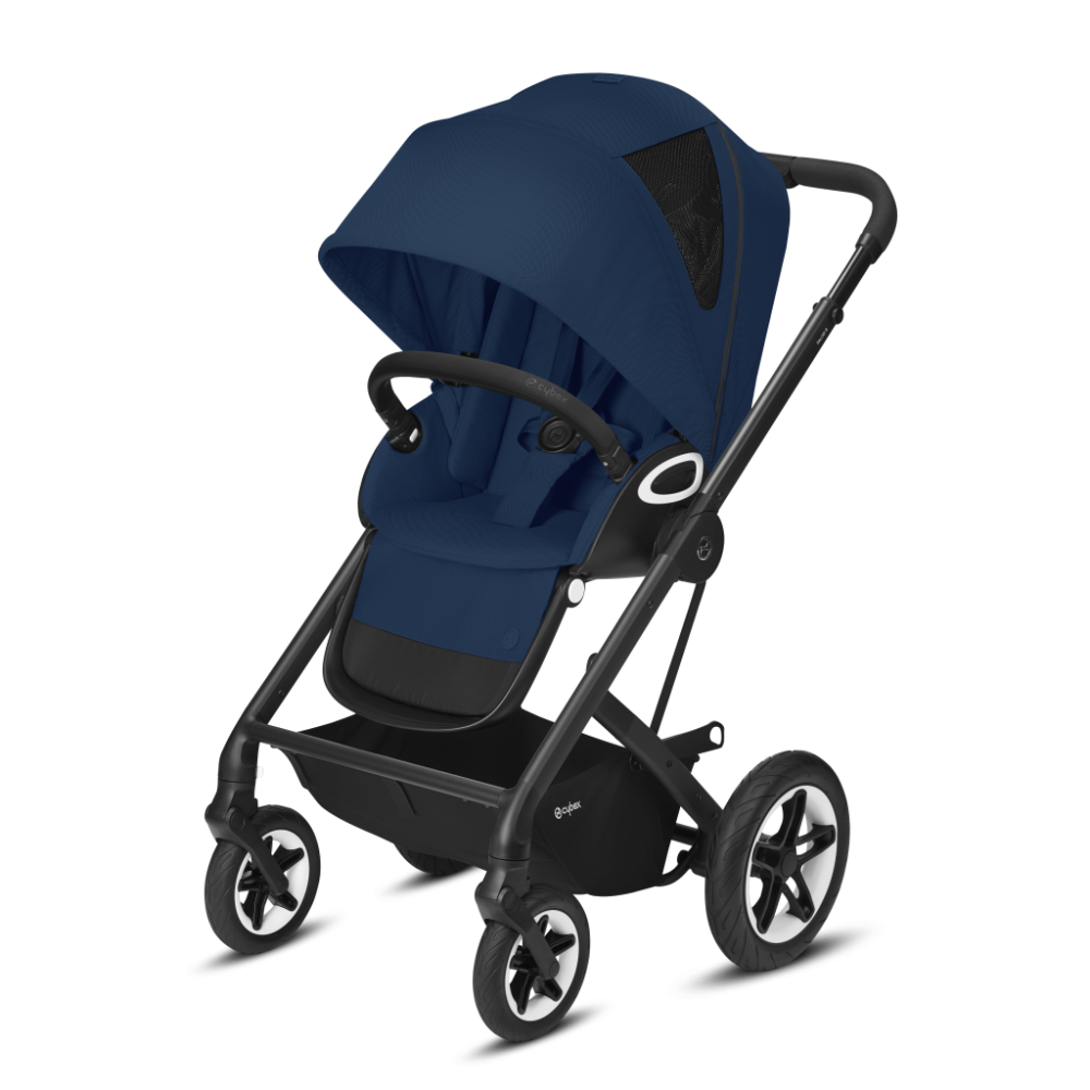 CYBEX Gold 'TALOS S LUX' Buggy 2021 Black/Navy Blue Bild 1
