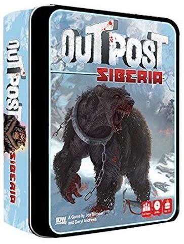 Outpost Siberia Card Game Bild 1