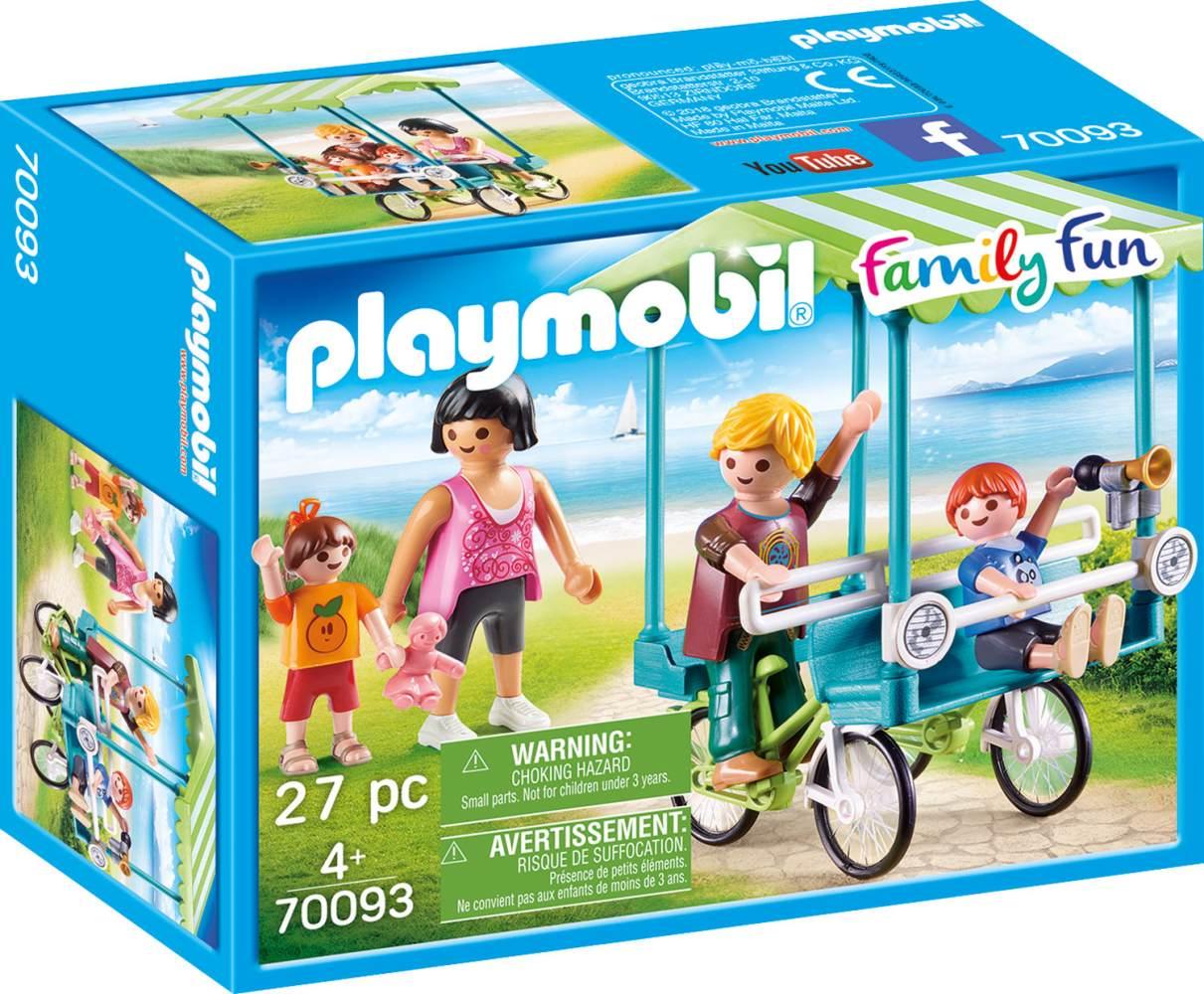 Playmobil Family Fun 70093 'Familien-Fahrrad', 27 Teile, ab 4 Jahren Bild 1