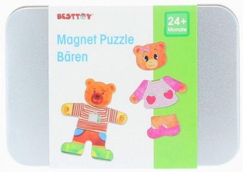 Besttoy - Magnet Puzzle - Bären Bild 1