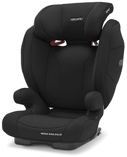 Recaro 'Monza Nova Evo Seatfix' Autokindersitz Deep Black, 15 bis 36 kg (Gruppe 2/3) Bild 1