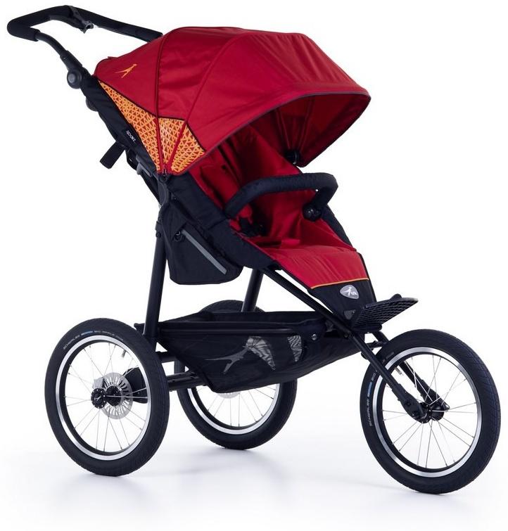 TFK Joggster Sport 2 Kinderwagen Tango Red Bild 1