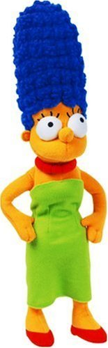 United Labels - 1000184 - Plüschfigur Marge Simpson - 3D, 38 cm Bild 1
