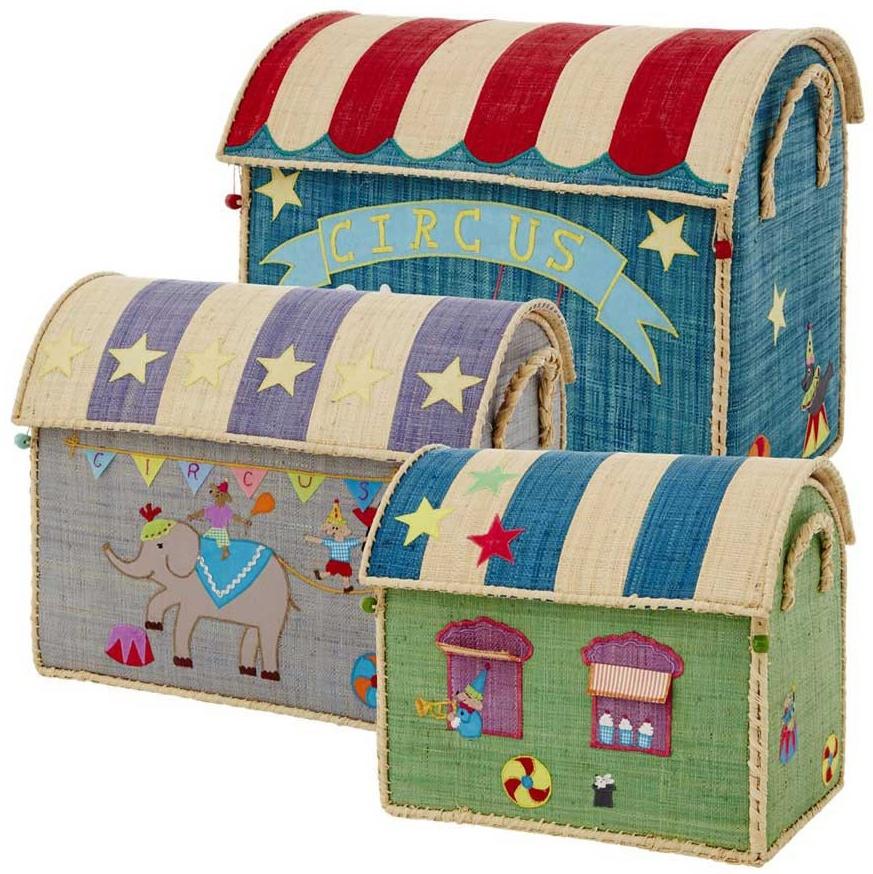 Rice Spielzeugkörbe Zirkus Set Bild 1