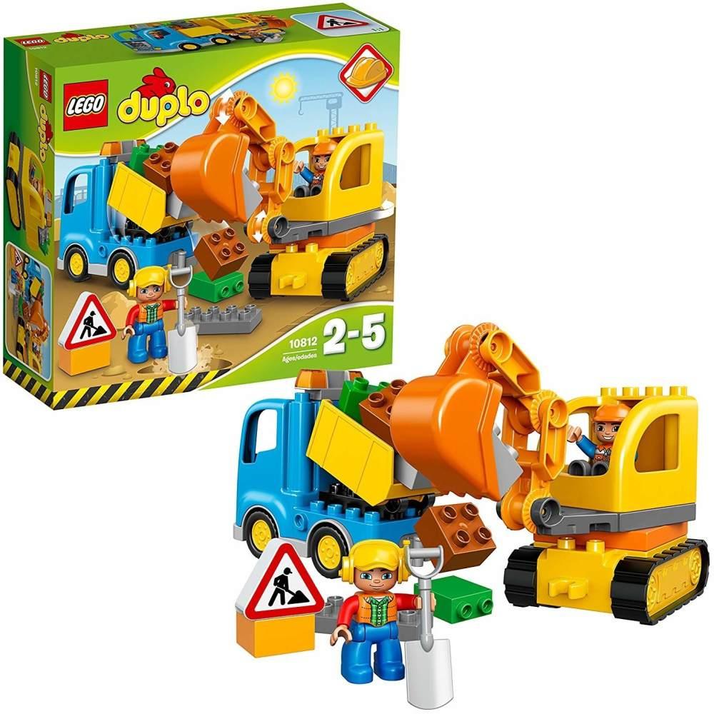 LEGO Duplo 10812 - Bagger und Lastwagen, Ideales Geschenk für 2 Jährige Bild 1