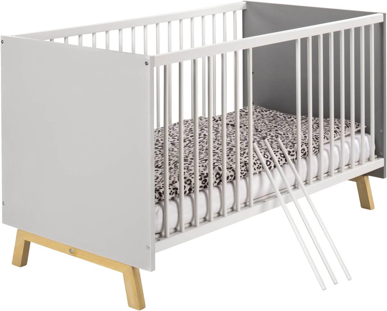 Schardt 'Vegas' Kombi-Kinderbett 70x140 cm Bild 1