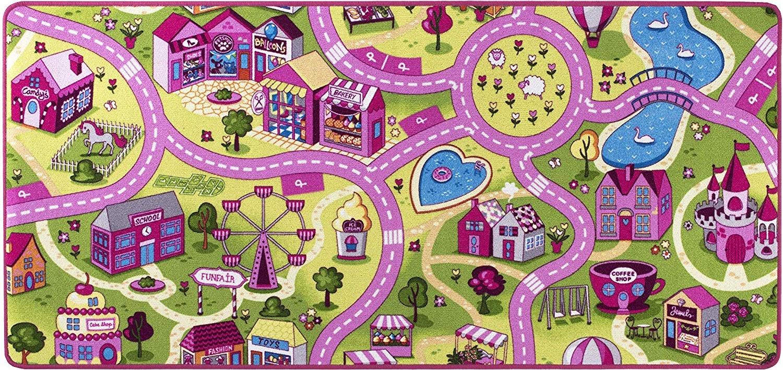misento 'City' Kinderteppich 200x200 cm Bild 1