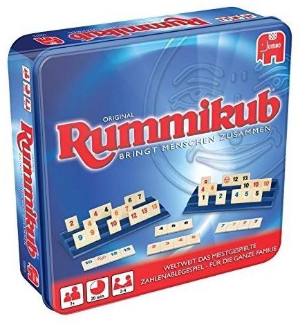 Jumbo Spiele GmbH 03973 Original Rummikub in Metalldose Gesellschaftsspiel, Ab 7 Jahren Bild 1