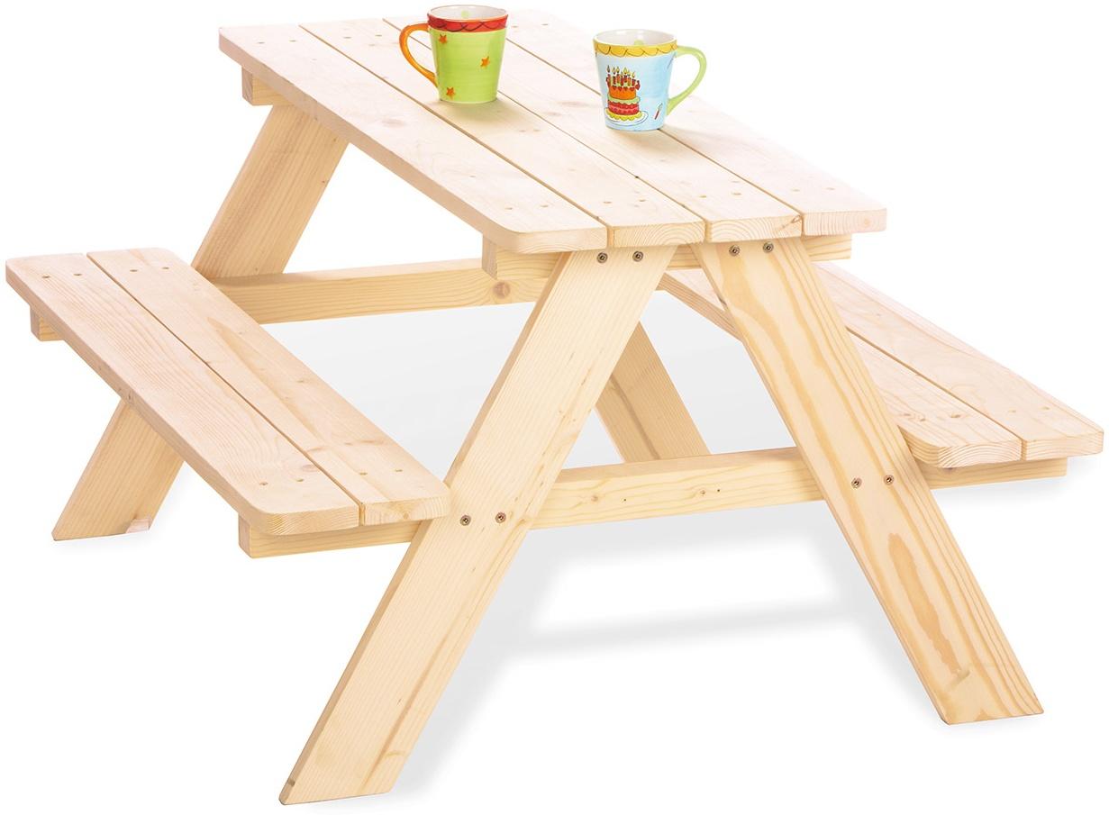 Pinolino 'Nicki für 4' Kindersitzgarnitur natur Bild 1