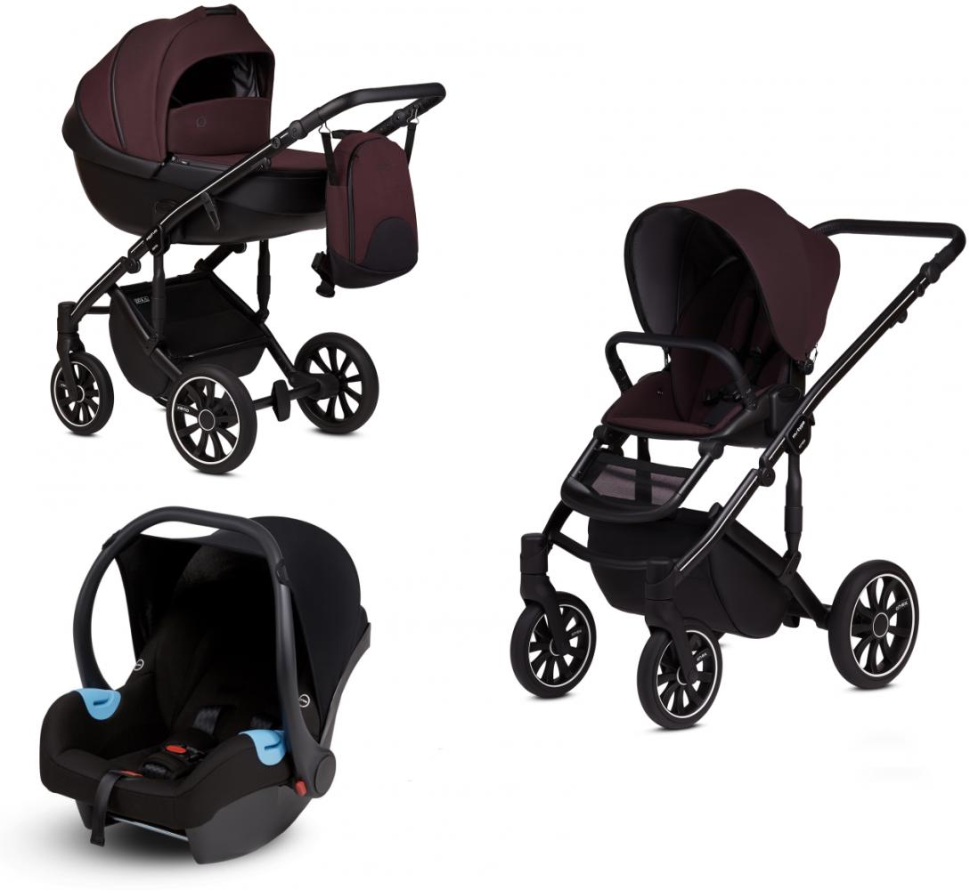 Anex 'm/type' Kombikinderwagen 2020 Grape inkl. Babyschale Bild 1