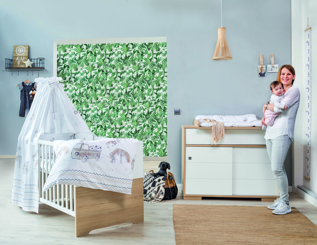 Kinderzimmer Sparset Slide Oak, 2-teilig Bild 1