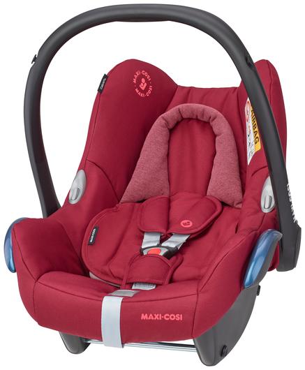Maxi-Cosi 'Cabriofix' Babyschale 2021 Essential Red von 0-13 kg (Gruppe 0+) Bild 1
