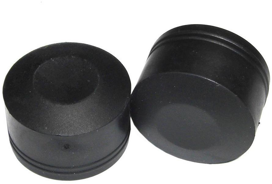 XLC Unisex– Erwachsene Staubkappen Set-3092009322 Set, schwarz, One Size Bild 1