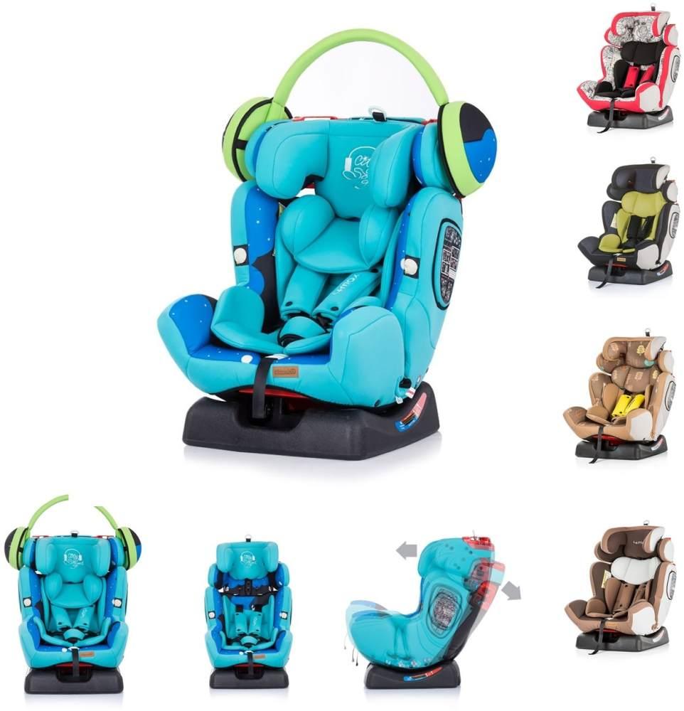 Chipolino Kindersitz 4 Max Gruppe 0+/1/2/3 türkis Bild 1