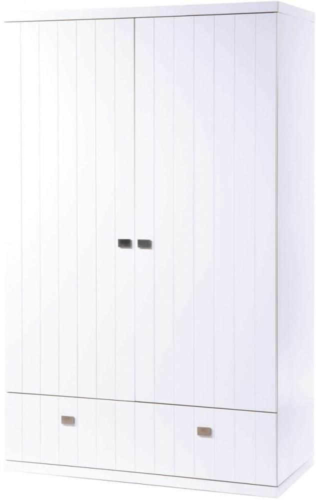 Roba 'Multistar' Kleiderschrank 2-türig weiß Bild 1