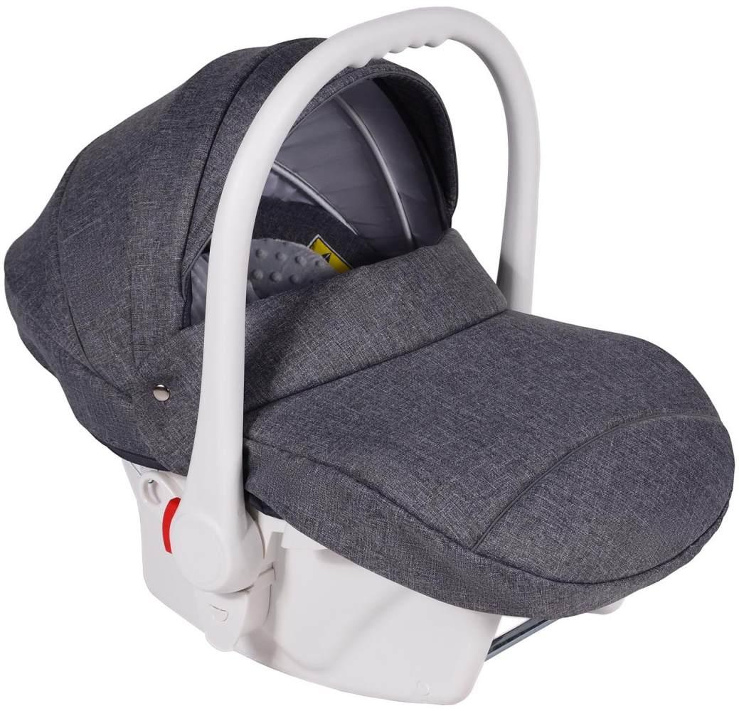 Clamaro Babyschale weiß/grau Bild 1