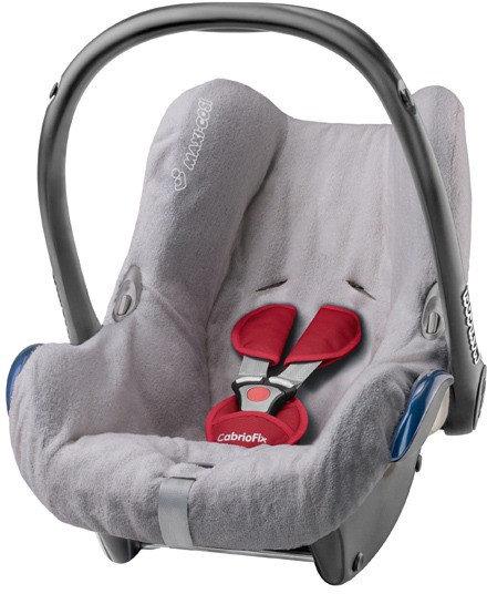 Maxi-Cosi 61408090 Sommerbezug für Babyschale CabrioFix, Citi und Citi SPS, cool grey Bild 1