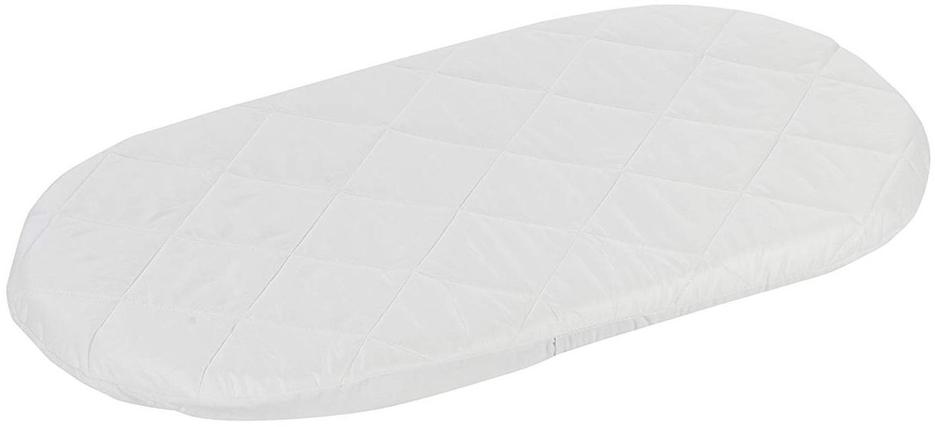 Alvi 'Exclusiv' Stubenwagenmatratze Baumwoll Satin versteppt 37x70 cm Bild 1