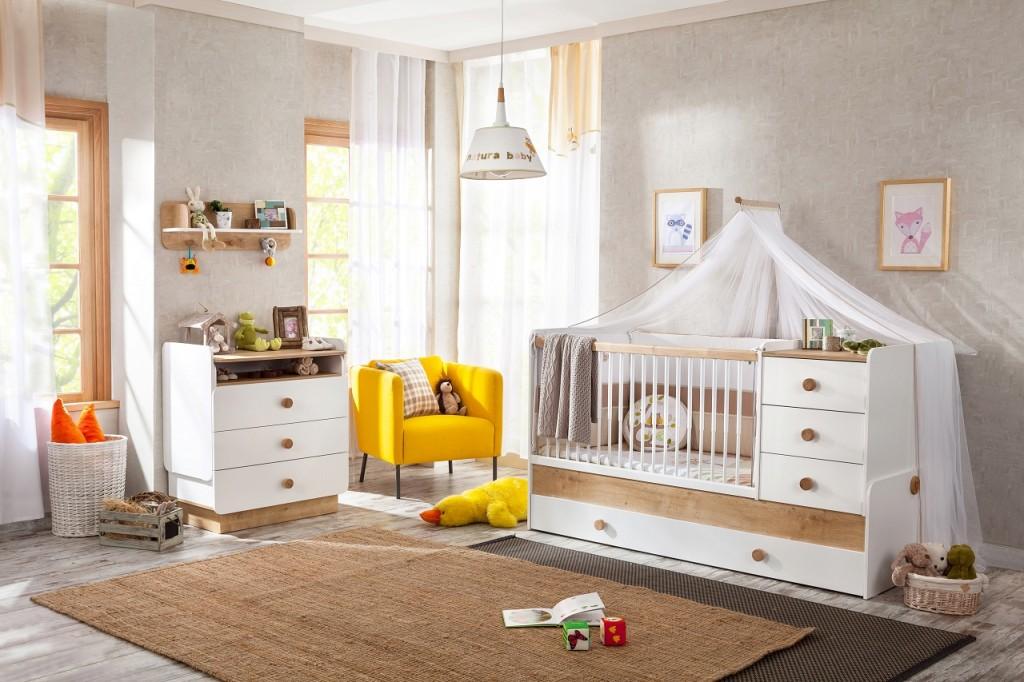 Cilek 'NATURA BABY' 3-tlg. Babyzimmer-Set Bild 1