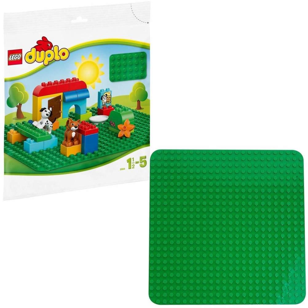 LEGO DUPLO - Große Bauplatte grün 2304 Bild 1