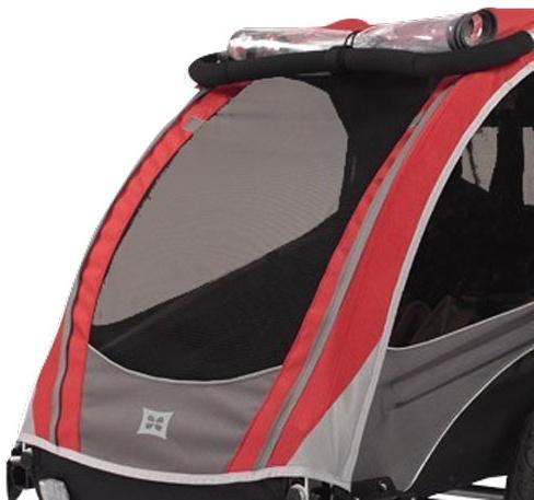 Burley Verdeck für Burley Dlite 2010- 2012 rot Bild 1