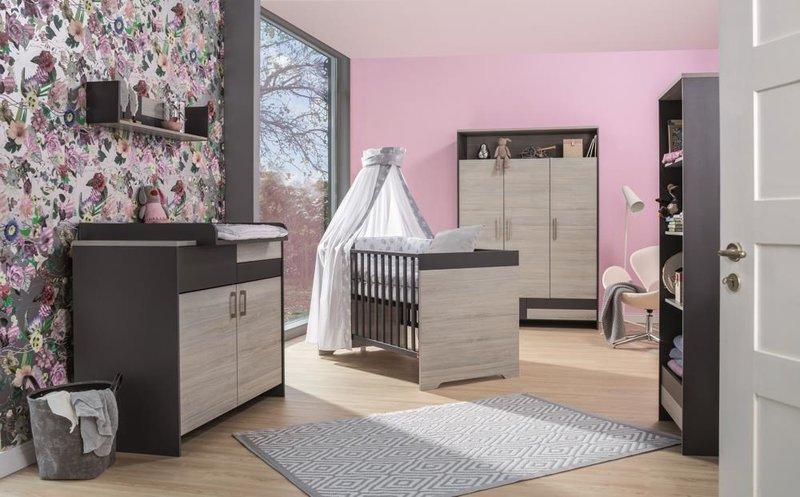 Schardt 'Clou' 3-tlg. Babyzimmer-Set Schrank 3-türig Bild 1