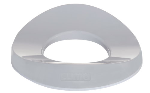 Luma WC-Adapter Luma Light Grey Bild 1