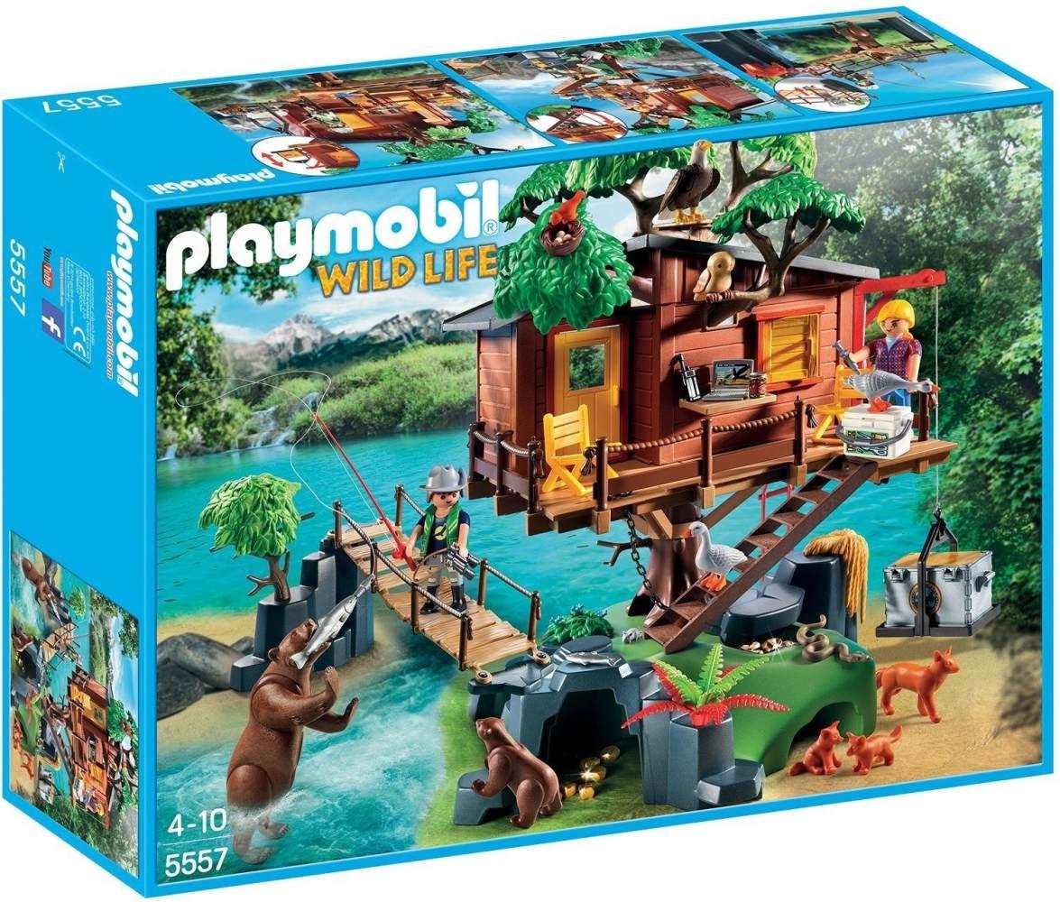 PLAYMOBIL 'Wild Life' Abenteuer-Baumhaus 5557 Bild 1