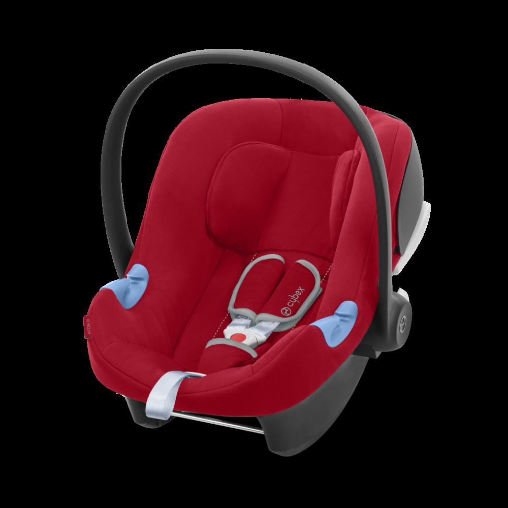 Cybex Silver 'Aton B i-Size' Babyschale 2020 Dynamic Red Bild 1