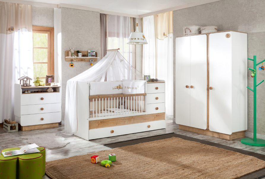 Cilek 'Natura Baby Set' 4-tlg. Babyzimmer-Set Bild 1