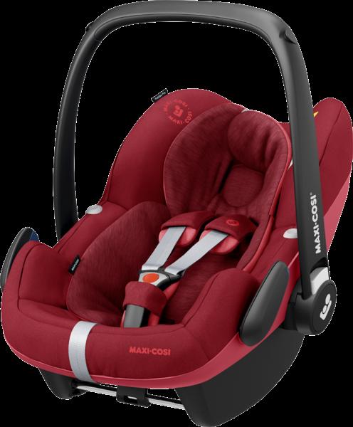 Maxi-Cosi 'Pebble Pro i-Size' Babyschale 2020 Essential Red von 45-75 cm (Gruppe 0+) Bild 1