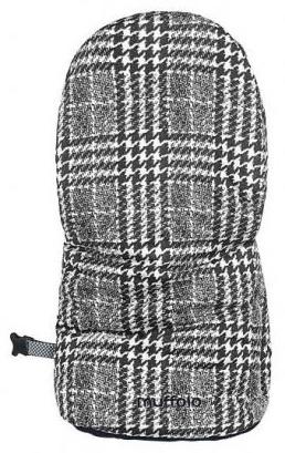 Odenwälder 'Muffolo' Handwärmer Glencheck Graphite Bild 1