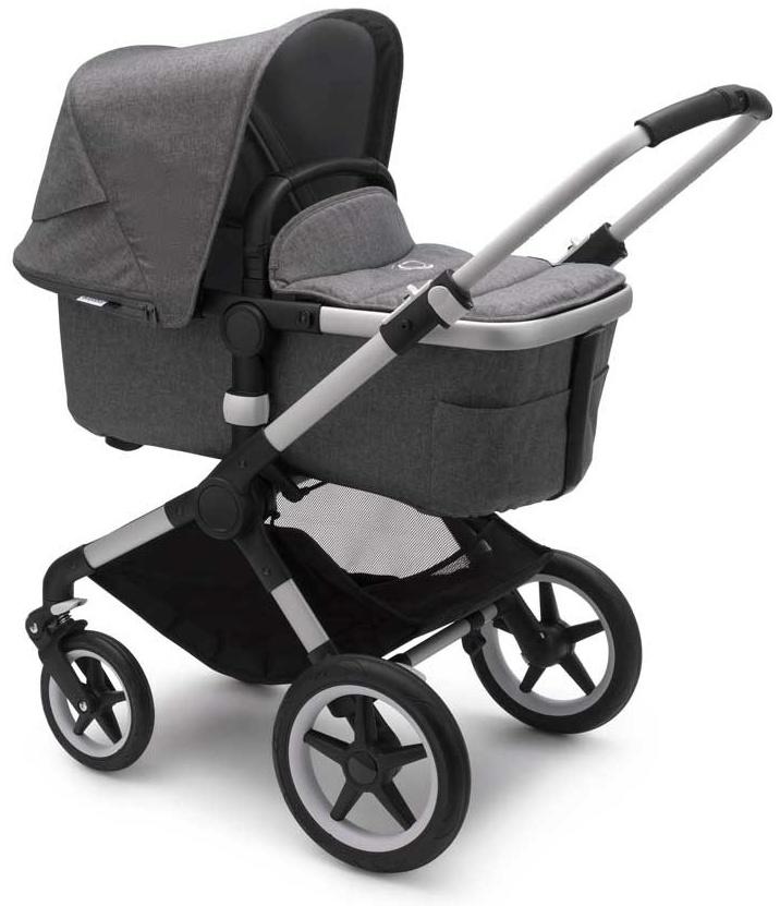 Bugaboo 'Fox2' Kombikinderwagen 3 in 1 incl. Babyschale Alu / Grau Meliert Soho Grey Bild 1