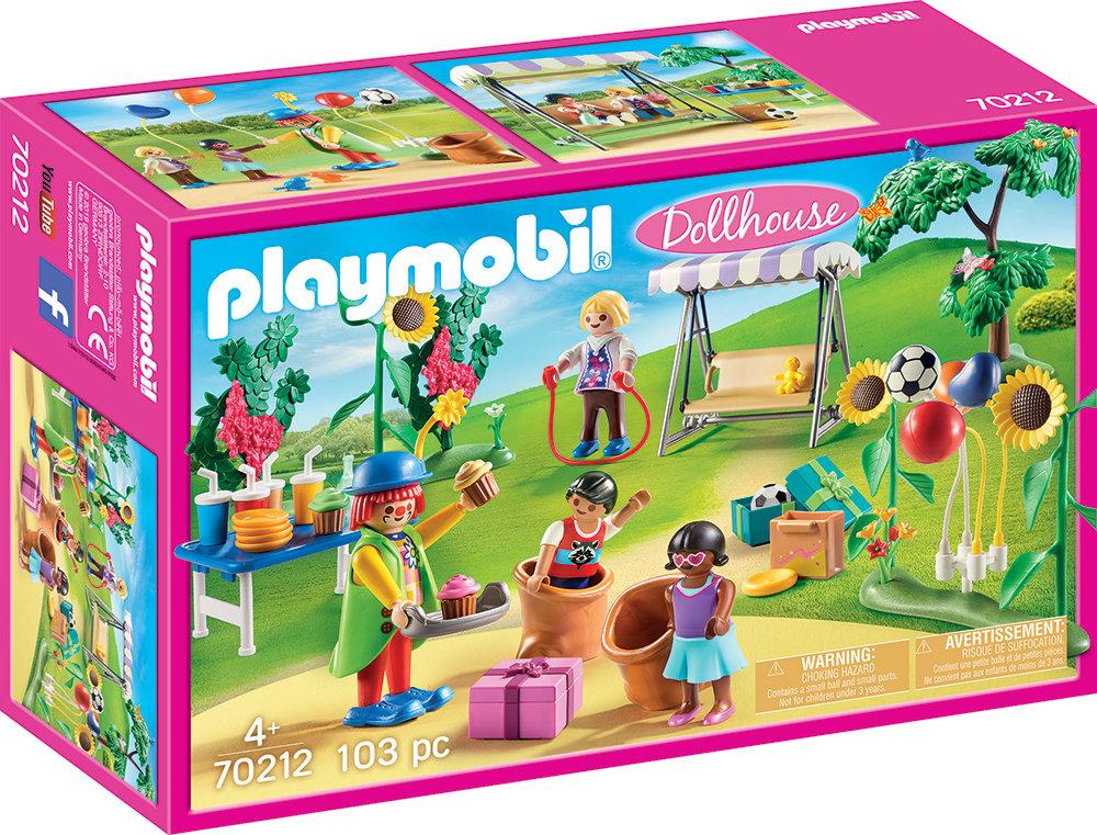 Playmobil Dollhouse 70212 'Kindergeburtstag mit Clown', 103 Teile, ab 4 Jahren Bild 1