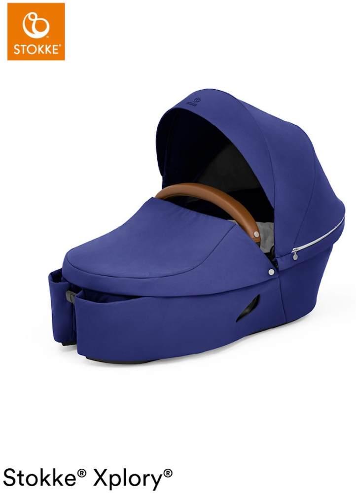 Stokke® Xplory® X Babywanne für Xplory® X Kinderwagen Royal Blue Bild 1