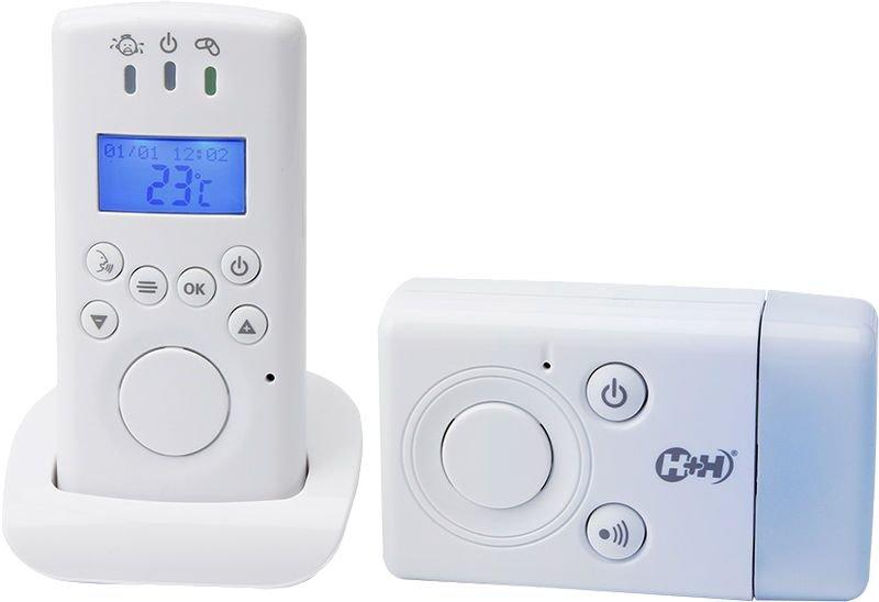 H+H Babyruf MBF 7010 Babyphone, mit Nachtlicht 300 Meter Reichweite Bild 1