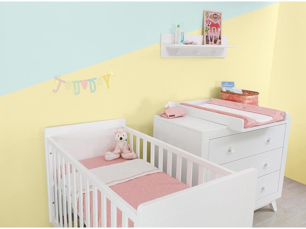 BOPITA 'Fiore' 3tlg. Babyzimmer Set weiß Bild 1